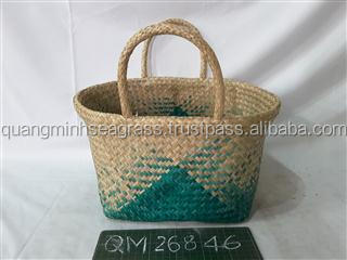 Natural Hand Woven Straw Beach Bag High Quality Seagrass Shopping Bag Cheap  Price Wholesale Willow Women Tote Bag - Buy Beach Bag 5bcb46bbb9c3e