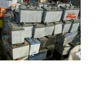 Quality stock of Used car lead battery scrap ready for sale