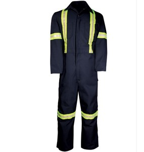 Enhanced Visibility Deluxe Coveralls Zipper Leg Workwear Overalls Customize Coveralls Overalls coverall working uniform