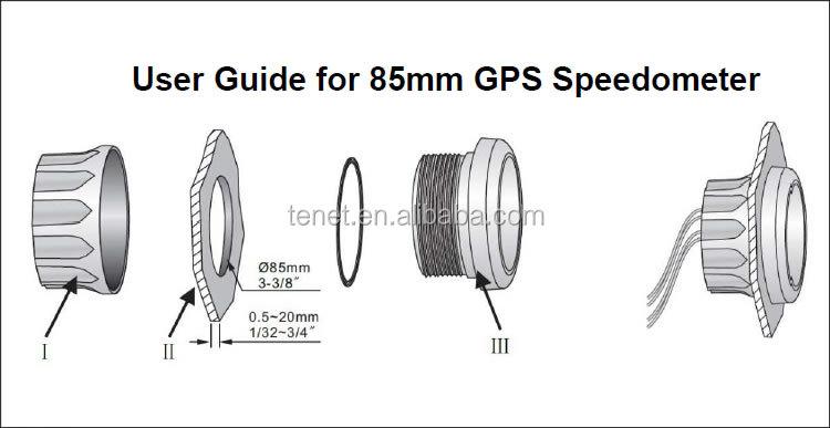 Universal Motorcycle Speedometer 85mm,Clock Size 200km/h - Buy  Speedometer,Suzuki Motorcycle Speedometer,Universal Motorcycle Speedometer  Product on