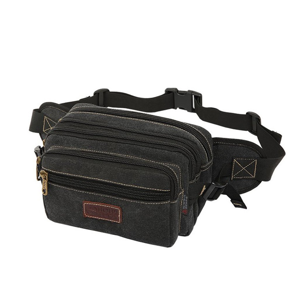 1c3b1f76080 Get Quotations · SUNSEATON Fanny Pack with 6 Zip Pockets