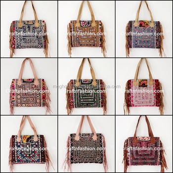 540aed26cb0 Indian Ethnic Banjara Style Leather Fringe Hand Bag - Designer Leather  Fringe Handbag - Womens Leather Fringe Handbag Bags, View woman hand bag  2017 ...