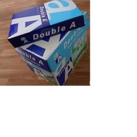 Premium 100% wooden pulp office Double A white A4 copy paper 80gsm(210mm*297mm)