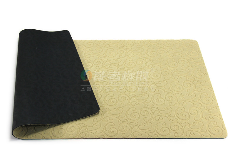 wholesale no smell and natural rubber materials door/ bath mats