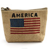 Recycle revlon jute cosmetic pouch
