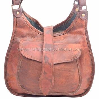 e3fbd7210d93 Индийский ручной работы, старинные натуральная кожа сумка дамы портфель  сумка для ноутбука