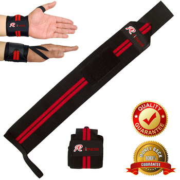 Super Heavy High Quality Weightlifting Wrist Wrap / RC FITNESS Wrist wraps