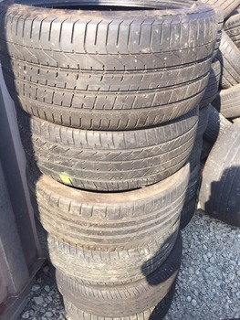 Used Passenger Car Light Commercial Truck Bus Tires Airless Rubber
