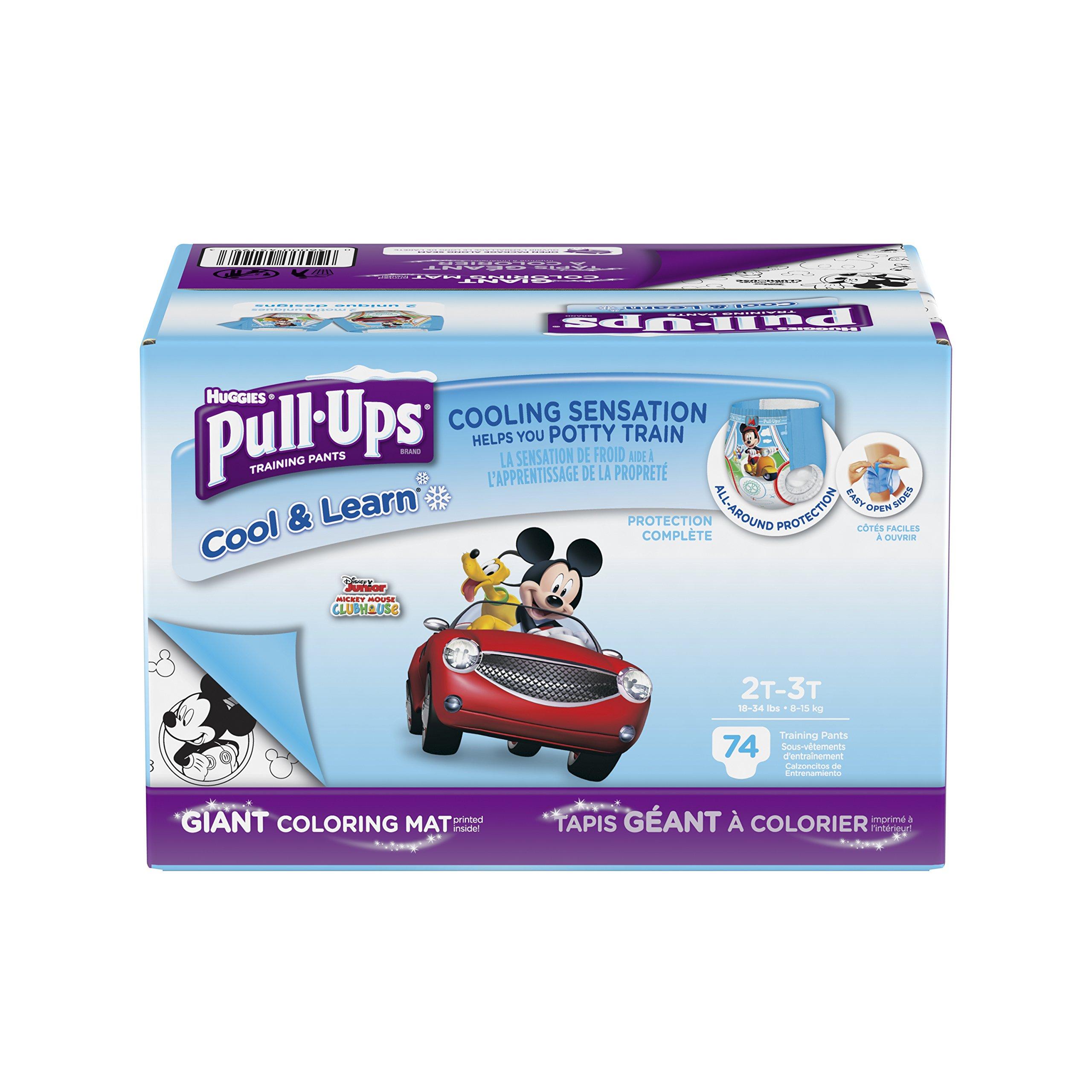 Pull-Ups Cool & Learn, 2T-3T (18-34 lb.