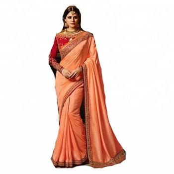 031563a3d4 Border Worked Georgette Saree / Silk Saree Blouse Designs / Sexy Saree