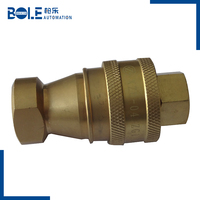 Stainless Steel Quick Coupling Water Quick Coupler Fast Connection Release for hydraulic pumps