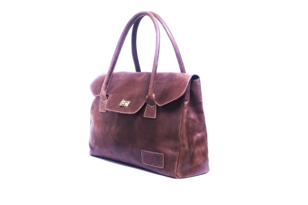 Tan Brown Ethiopian Custom Handmade Bag