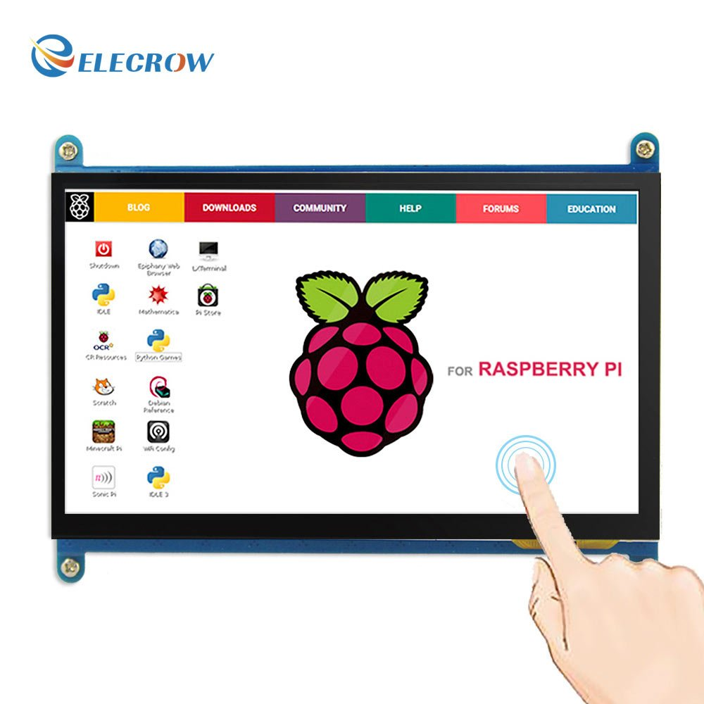 Etoput Acrylic Case Holder for Raspberry pi 3 Model B 5 Inch TFT Touch Display