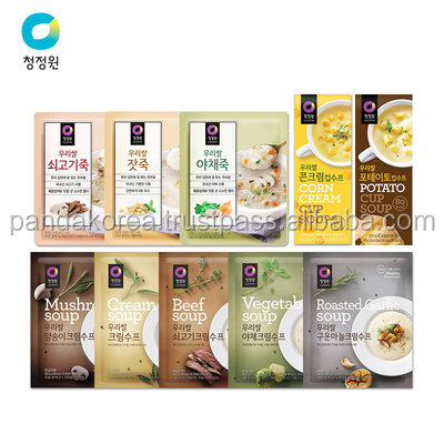 korea food brands Our rice Soup bamboo Curry Queen Household powder bag packaging Seafood vegetables flavor