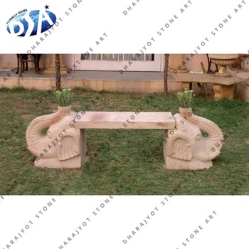 Yellow Granite Garden Elephant Sculpture Leg Bench Buy Outdoor Granite Benchdecorative Outdoor Garden Elephant Sculpture Leg Benchoutdoor Garden