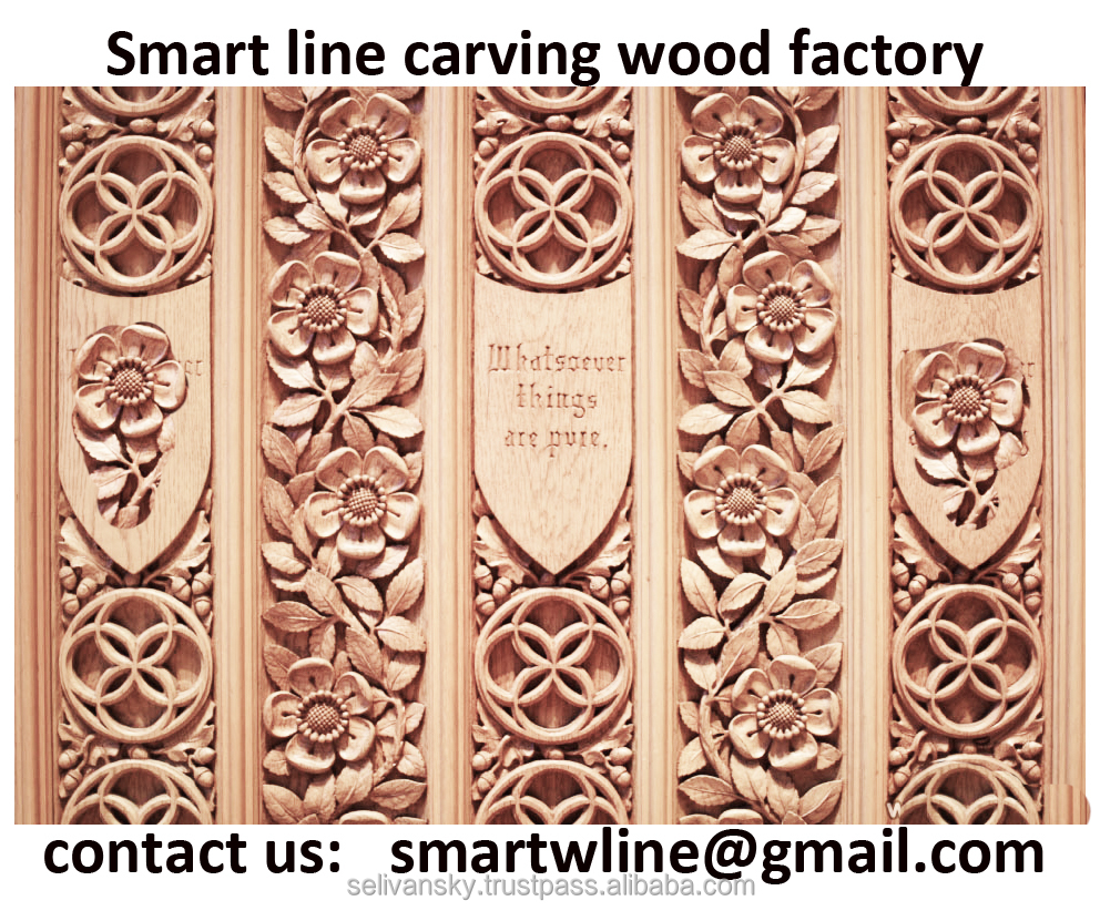 Exterior Hand made Carved Wooden Door