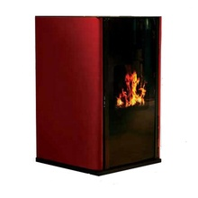 hot water heater European pellet stove with automatic modulation