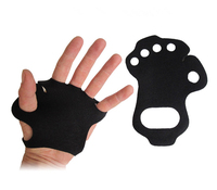 Gymnastic Leather Grip / Crossfit Leather Palm Protectors Hand Grips