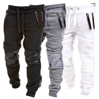 Men's Long Athletic Casual Sports Pants Slim Fit Jogger Running Gym Trousers Sportswear