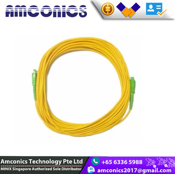 100% Brand New And High Quality Fiber Optic Cable For Use With M1 / Singtel  / Starhub W Opennet Connection For Internet - Buy Fiber Optic Cable,Cheap