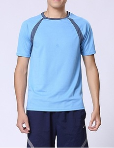 New Spring Summer Male T shirt Designs Plain with contrast color Men T shirt