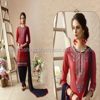 Latest Indian Women Wear Fancy Modern Design Panjabi Patiala Salwar