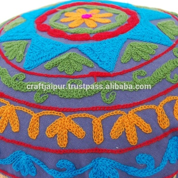 Embroidered pillowcases cover wholesale decor suzani cushion cover