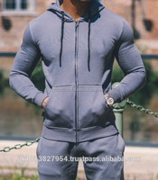 Latest Design Men's Fitness Tracksuits In 100% Cotton Fleece