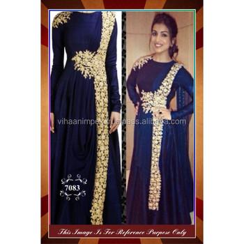 Indian Latest Blue Color Designer Wear Dress Suit Party - Buy ...