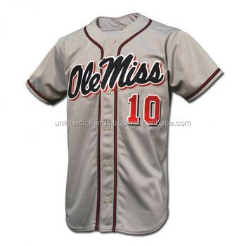 customizable baseball jersey