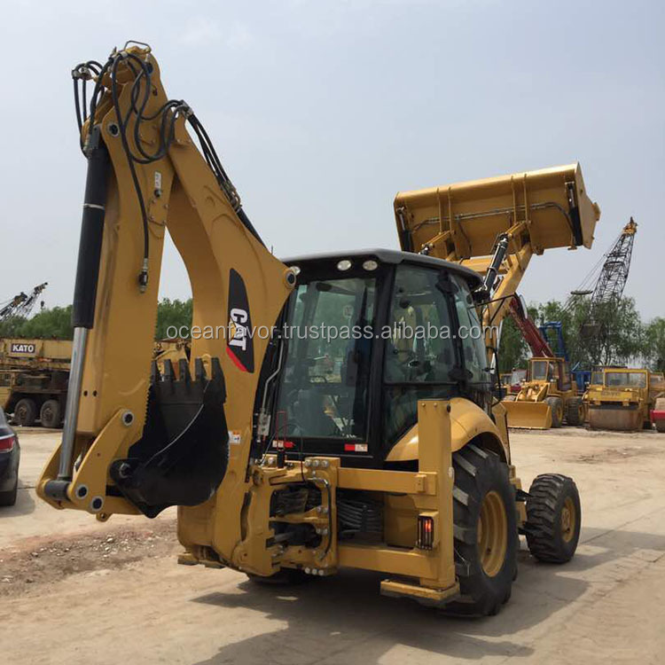Cat 430f new backhoe loaders for sale, Caterpillar 430f2 backhoes in Shanghai China