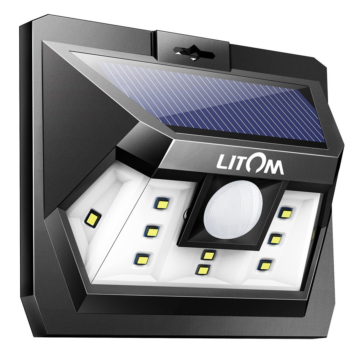 Buy Litom Solar Lights Outdoor Wireless Led Solar Motion