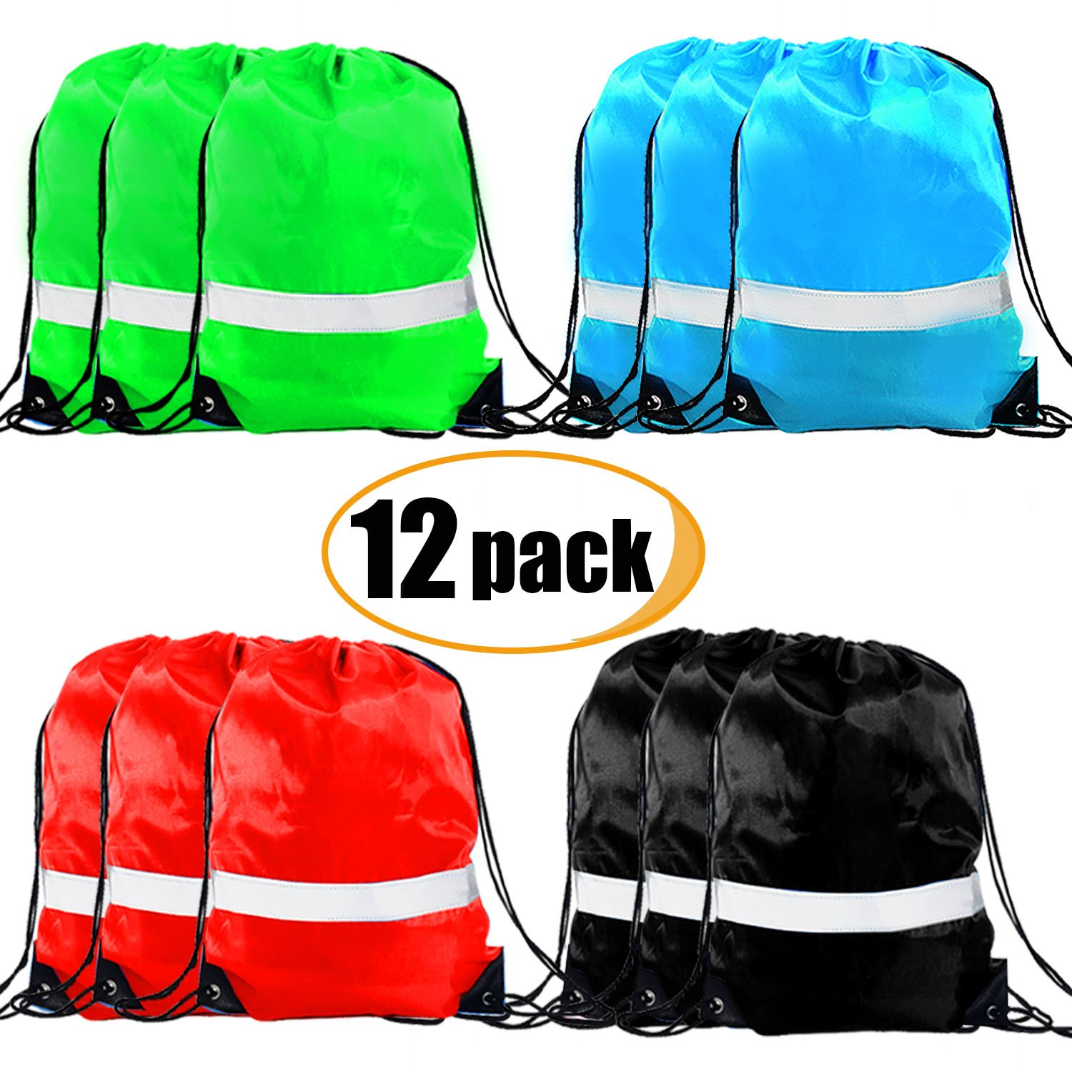 851f8ff58e8 Get Quotations · Drawstring Backpack Bag - Cinch Sack Backpack String  Backpack Gym Bag Drawstring Bags