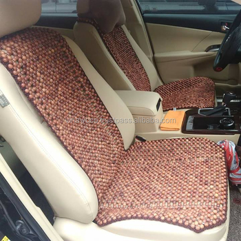 Wood Beads Car Seat Covers Will Massage Black Butt Feeling Comfortable When Sitting