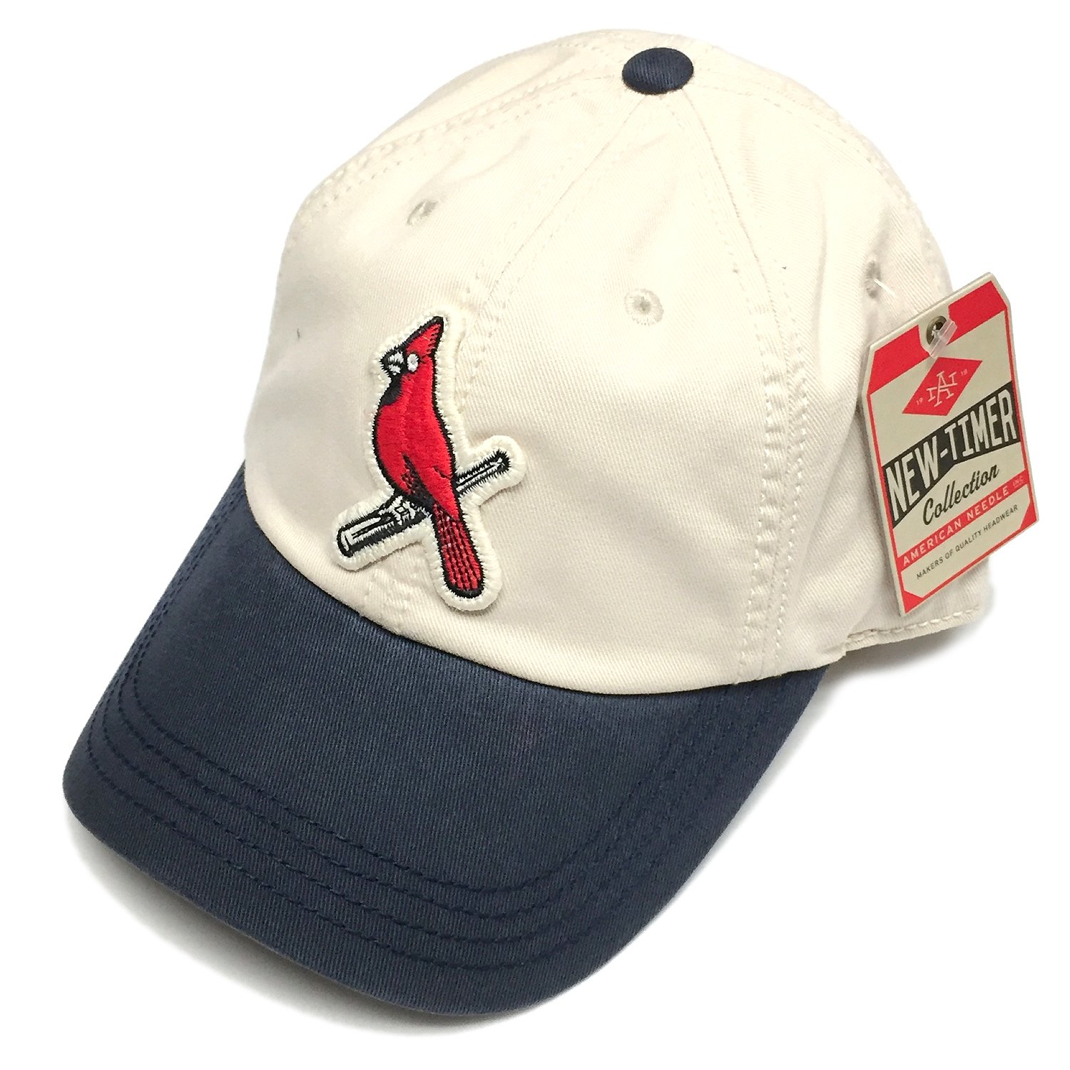 a77895102b0 Get Quotations · American Needle MLB St. Louis Cardinals New Timer Slouch  Retro Snapback Cap