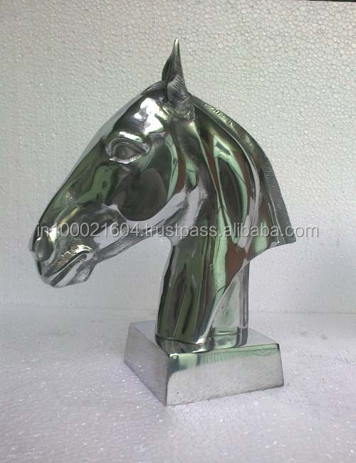 Metal Horse Head for Home Decoration