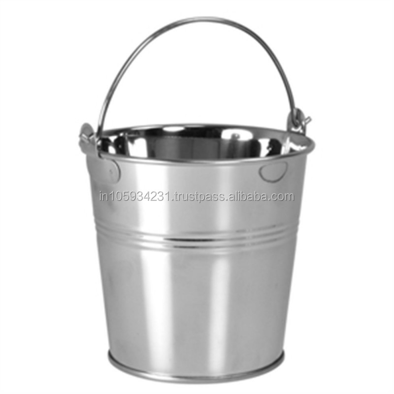 Popular Design Tin Champagne Pail Bucket without Lid