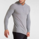 Wholesale Cheap Price Mens Base Layer T Shirts With Hoodie Long Sleeve OEM Custom Gym Fitness Yoga Running Workout Men Shirt