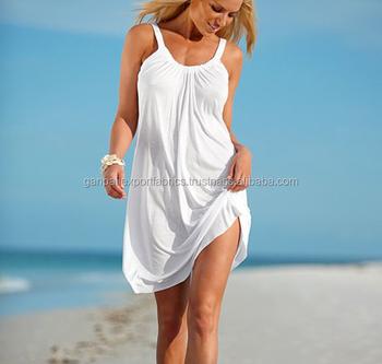 3e1a2c4a33b New Arrival Stylish White Neckline Beach Short Dress - Buy Linen ...