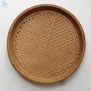 Rattan Wall Hanging Basket From Vietnam  Wall Hanging Art For Decoration