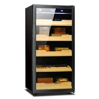 NC190K best cigar cabinet humidor for sale with automatic humidify and dehumidify