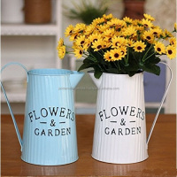 Hand Painted 2019 Metal flower jug home flower gardening watering kettle for sale