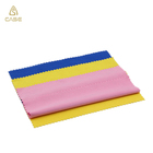 Customized colorful microfiber cleaning cloth