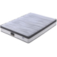 Euro Top Luxury Hotel Mattress Knitted Fabric Pocket Spring Mattress with Compress packing