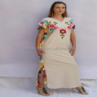Designer Maxi & Free Size Kaftan for Women's/Designer Beach Wear Embellished Kaftans
