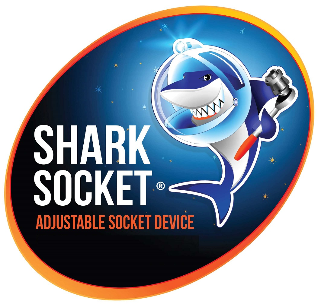 Adjustable Socket Wrench - The All in One Adjustable Socket Device (ASD), Shark Socket, by Eshely