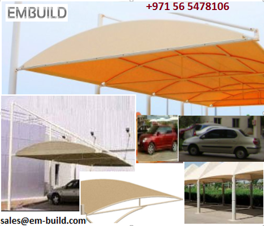 Car sheds / SHADE FOR CARS / Pre fab car shed + 971 565478106