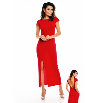 Largo Vestido Rojo Con Espalda Descubierta Buy Cocktail Dressesvestido De Fiesta Product On Alibabacom