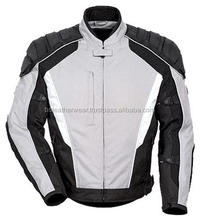Chopper Motorbike Cordura Jas Waterdicht Armour Motorkleding