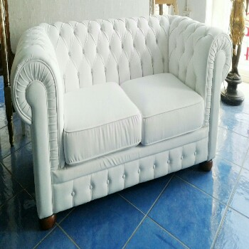 Chesterfield Modern Leather Sofa